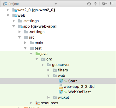 Intellij Quickstart — GeoServer 2 17 x Developer Manual