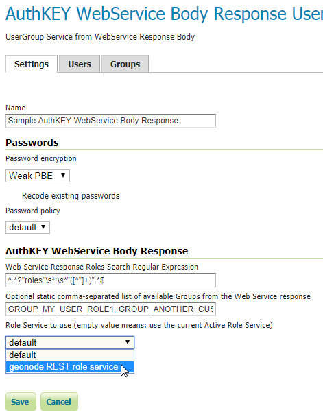 Key authentication module — GeoServer 2 14 x User Manual