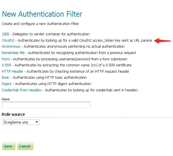 Authentication With Oauth2 — Geoserver 2.12.X User Manual