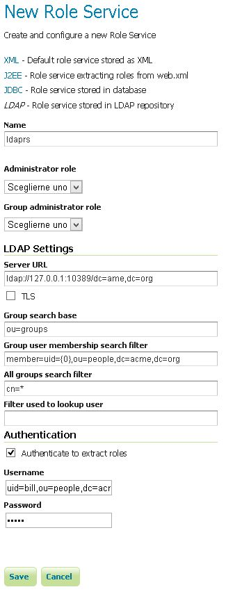 Authentication with LDAP — GeoServer 2.13.x User Manual