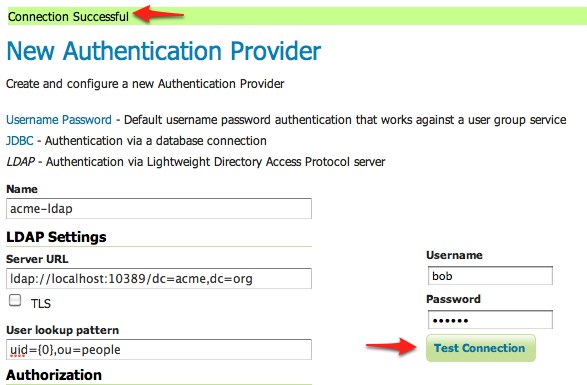 Authentication with LDAP — GeoServer 2 17 x User Manual