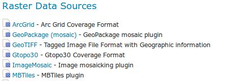 MBTiles Data Store — GeoServer 2 17 x User Manual