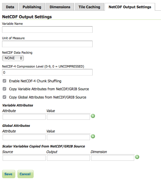 NetCDF Output Format GeoServer 212x User Manual – User Manual Format