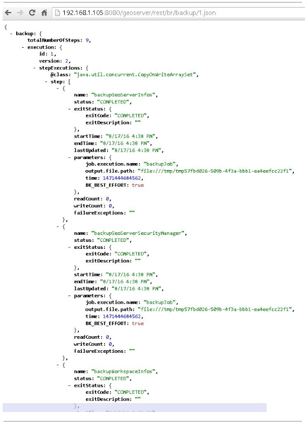 Usage Via GeoServer's REST API — GeoServer 2 14 x User Manual