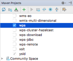 Intellij Quickstart — GeoServer 2 15 x Developer Manual
