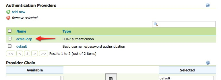 Authentication with LDAP — GeoServer 2 16 x User Manual