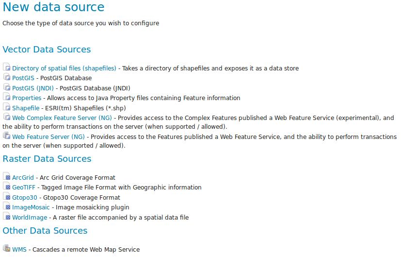 Publishing a shapefile — GeoServer 2 15 x User Manual