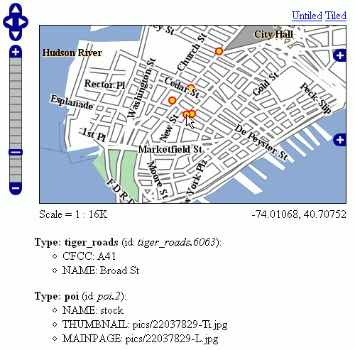 GetFeatureInfo Templates — GeoServer 2 14 x User Manual